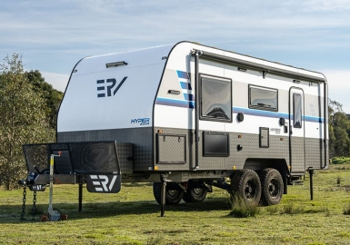 Retreat Caravans electric RV camper