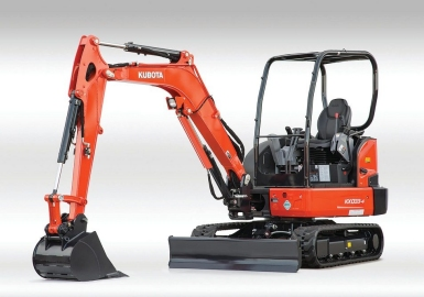 Kubota electric excavator loader