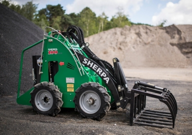 Sherpa electric excavator loader