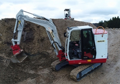 Takeuchi electric excavator loader