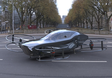 AirCar electric VTOL