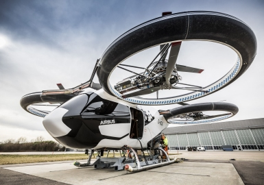 Airbus electric VTOL