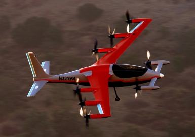Kitty Hawk electric VTOL